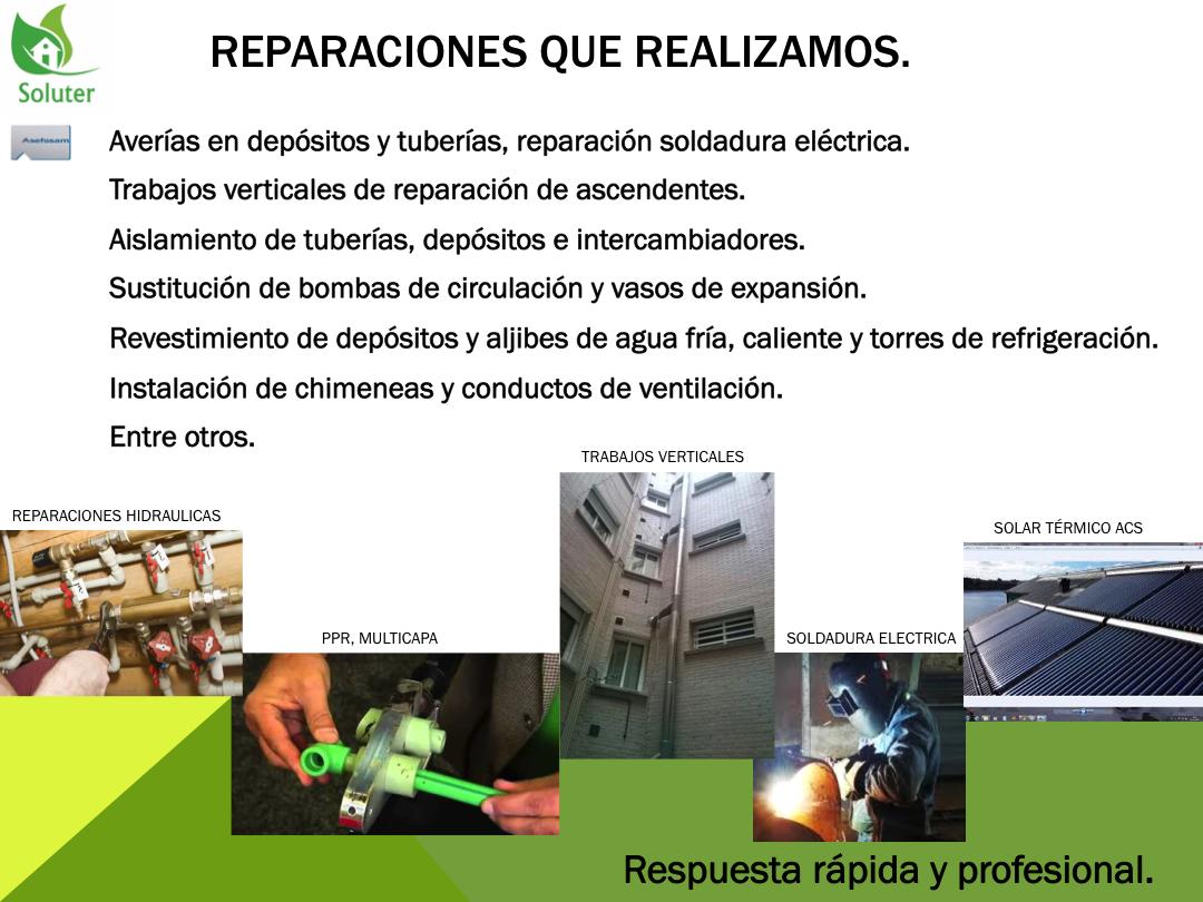 Reparaciones De Fontaneria Y Calefaccion Rapidas Y Economicas