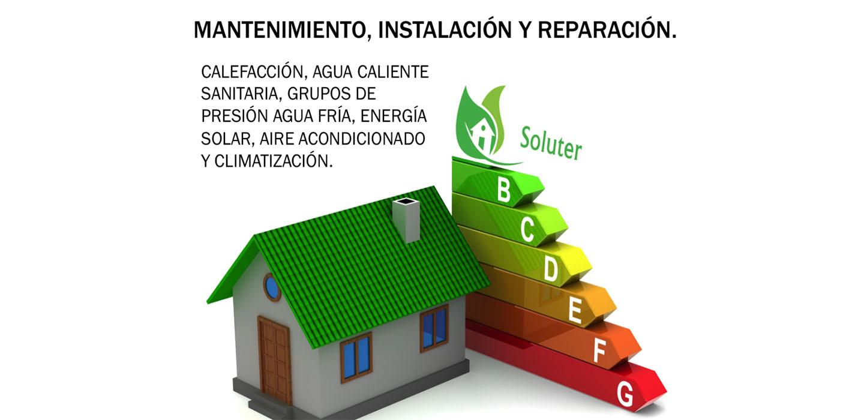 Mantenimiento, instalación y reparación   Soluter